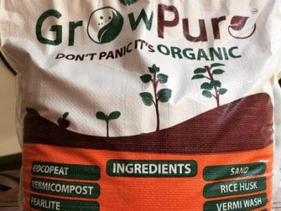 Growpure Organic Potting Mix – 10kg Bag