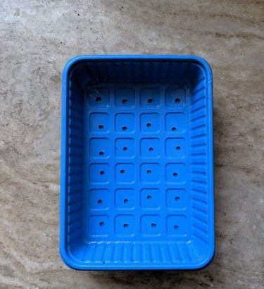 Microgreen Grow Tray – Perforated – Small